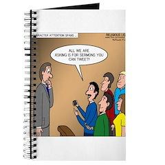 Sermon Tweeting Journal