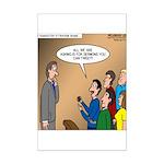 Sermon Tweeting Mini Poster Print