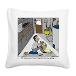 Minister in Hiding Square Canvas Pillow