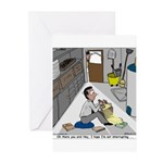 Minister in Hiding Greeting Cards (Pk of 10)