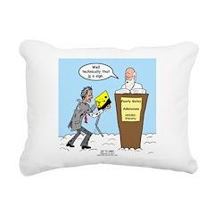 Sign from Heaven Rectangular Canvas Pillow