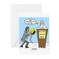 Sign from Heaven Greeting Cards (Pk of 20)
