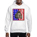Black Poodle Hooded Sweatshirt