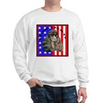 Black Poodle Sweatshirt