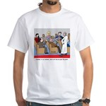 Passing the Plate White T-Shirt
