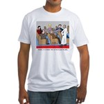 Passing the Plate Fitted T-Shirt