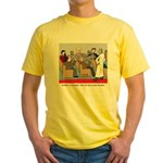 Passing the Plate Yellow T-Shirt