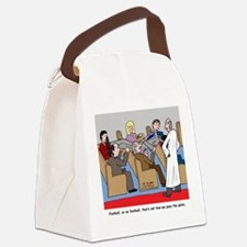 Passing the Plate Canvas Lunch Bag