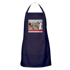 Passing the Plate Apron (dark)