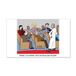 Passing the Plate 20x12 Wall Decal