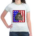 Black Poodle Jr. Ringer T-Shirt