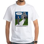 Tough Pastoral Visits White T-Shirt