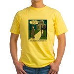Tough Pastoral Visits Yellow T-Shirt
