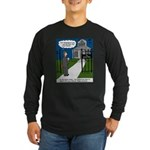 Tough Pastoral Visits Long Sleeve Dark T-Shirt