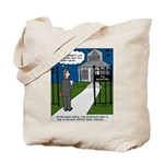 Tough Pastoral Visits Tote Bag
