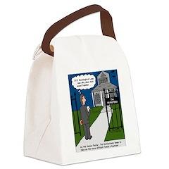 Tough Pastoral Visits Canvas Lunch Bag