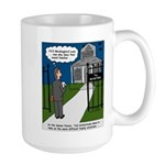 Tough Pastoral Visits Large Mug