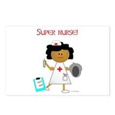 Super Nurse Postcards (Package of 8)
