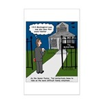 Tough Pastoral Visits Mini Poster Print