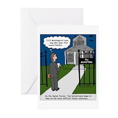 Tough Pastoral Visits Greeting Cards (Pk of 10)
