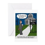 Tough Pastoral Visits Greeting Cards (Pk of 20)