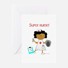 Super Nurse Greeting Cards (Pk of 10)