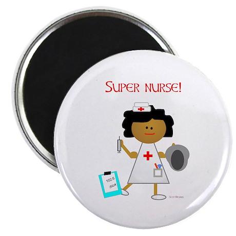 """Super Nurse 2.25"""" Magnet (10 pack)"""