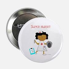 """Super Nurse 2.25"""" Button (10 pack)"""
