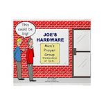 Hardware Prayer Group Throw Blanket