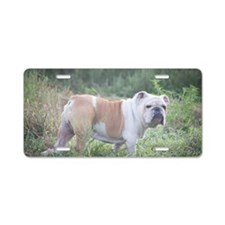 Mack the Bulldog Aluminum License Plate