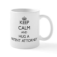 Keep Calm and Hug a Patent Attorney Mugs