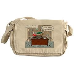 New Pastor Adjustment Messenger Bag