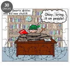 New Pastor Adjustment Puzzle