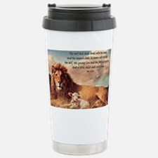 greeting card lion and lamb Travel Mug