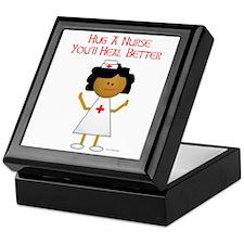 Hug A Nurse Keepsake Box
