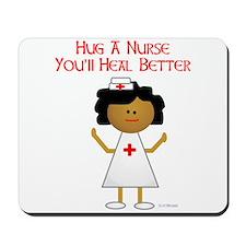 Hug A Nurse Mousepad