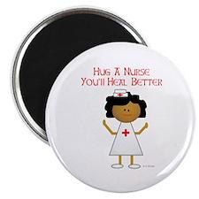 "Hug A Nurse 2.25"" Magnet (10 pack)"