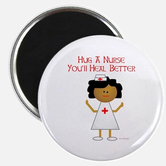 "Hug A Nurse 2.25"" Magnet (100 pack)"