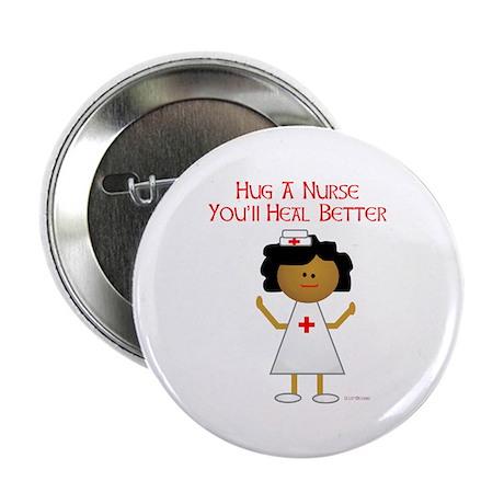 "Hug A Nurse 2.25"" Button (100 pack)"