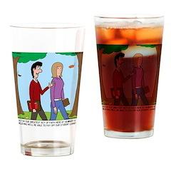 Seminary Faith Drinking Glass