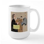 Sounding Off Large Mug
