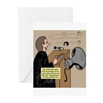 Sounding Off Greeting Cards (Pk of 20)