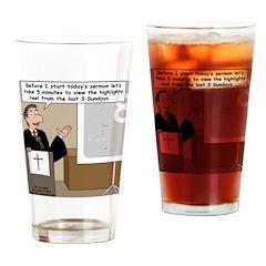 Highlights Reel Drinking Glass