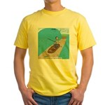 Fishing with God Yellow T-Shirt