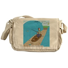 Fishing with God Messenger Bag