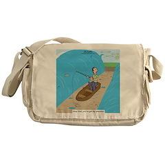 Fishing with God Messenger Bag