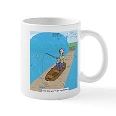 Fishing with God Mug