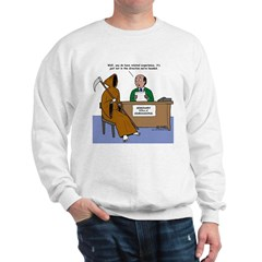 Death Applies to Seminary Sweatshirt