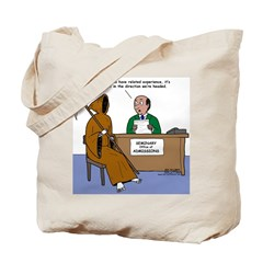 Death Applies to Seminary Tote Bag