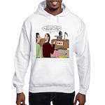 Death Works at the DMV Hooded Sweatshirt